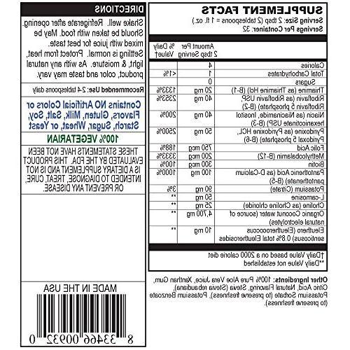 Bio Naturals Complex Liquid 100% Natural with Vitamins B2 B3 B5 B12 & for & Healthy Immune - 32 fl