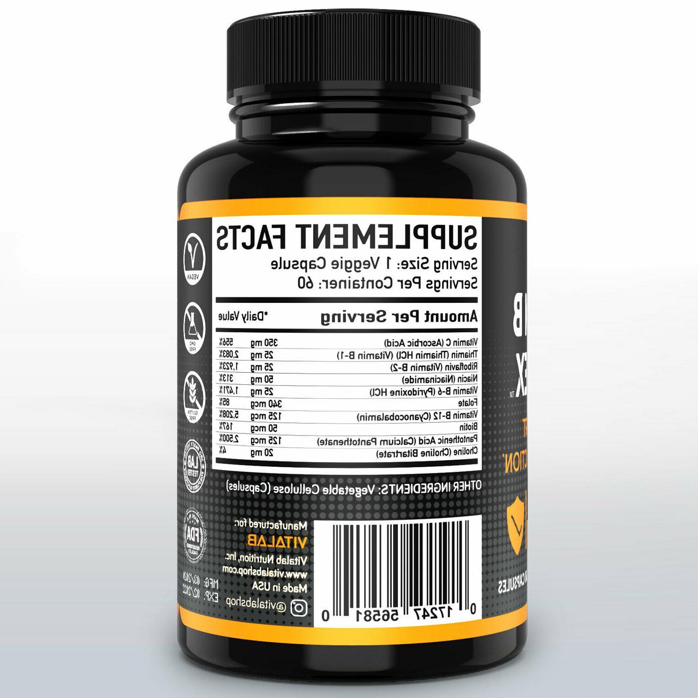Vitamin B B3, B12 Potency