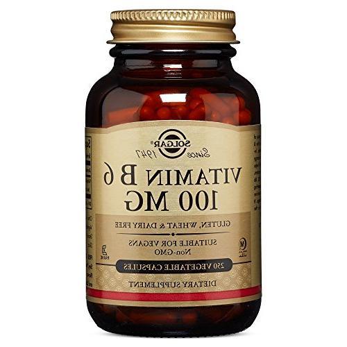 vitamin b6 vegetable capsules