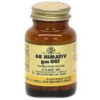 Vitamin B6, 100 mg, 100 Tabs by Solgar