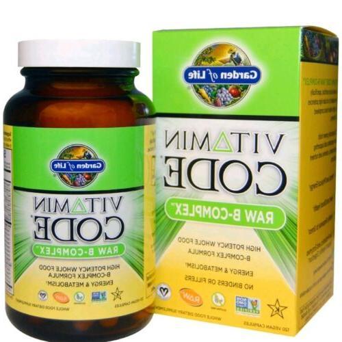 vitamin code raw b complex 120 vegan