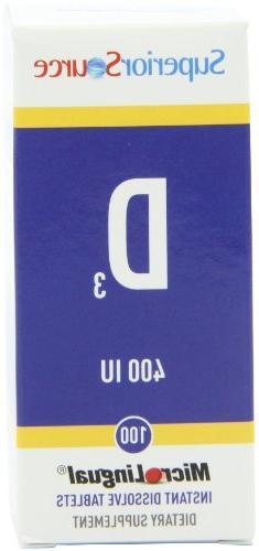 vitamin d 400 iu