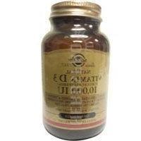Solgar - Vitamin D3 10000 Iu, 10000, 120 Sgs. 4 Pack