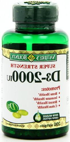 Nature's 2000 IU, Softgels