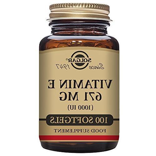 vitamin e 1000 iu mixed