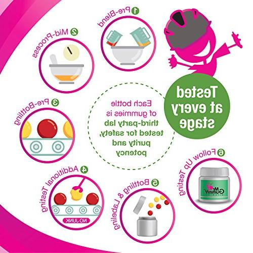 Mr Gummy Vitamins B Complex Supplement   B3, B6, & C Supports Heart & Health   Men