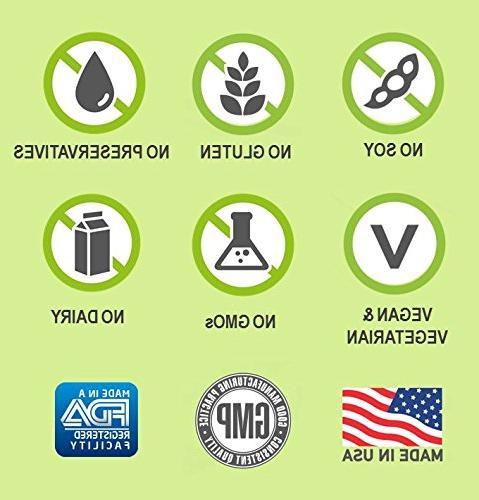 for Men - Vitamins, Minerals, Antioxidants, Extracts - Best Energy, Heart, Eye Health 240