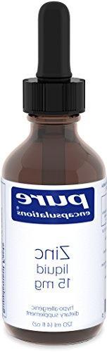 Pure Encapsulations Zinc Liquid Hypo-allergenic Dietary Supp
