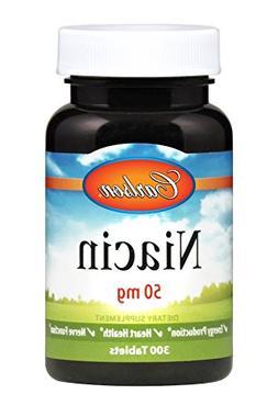 Carlson Niacin 50 mg, Vitamin B-3, Cholesterol Metabolism, 3