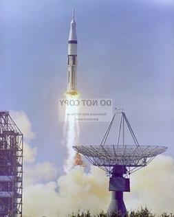 LAUNCH OF THE APOLLO 7 SATURN 1B AT LAUNCH COMPLEX 34 - 8X10