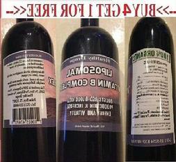 LIPOSOMAL VITAMIN B COMPLEX B1 B2 B3 B5 B6 B7 B8 B9 B12 METH