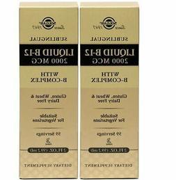 Solgar Liquid B12 2000 mcg 2 oz