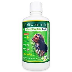 21ka Liquid Dog Vitamins Senior with Black Walnut Powder Cle
