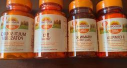 lot of 4 sundown vitamins b 12