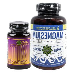 Magnesium Citrate Supplement Multivitamins 30 tablets B Comp
