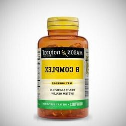 Mason Vitamin B Complex - 100 Softgels