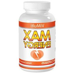 ViMulti MAX Energy Pills & Adrenal Fatigue Supplements. Redu