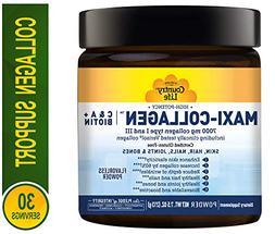 Country Life Maxi-Collagen - C&A + Biotin - 7.5 oz