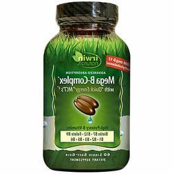 Irwin Naturals Mega B Complex - 60 Liquid Soft-Gels
