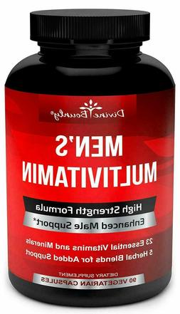 Mens Multivitamin Daily Multivitamin for Men with Vitamin A
