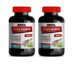 mood enhancer supplements - STRESS B & C - b stress complex