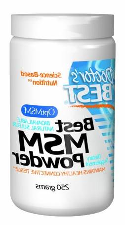 Doctor's Best MSM Powder -- 250 g