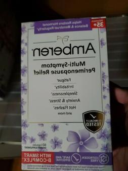 Amberen Multi-Symptom Perimenopause Relief Supplement, 60 Ca