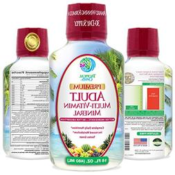 Tropical Oasis Multi Vitamin and Mineral Liquid Supplement -
