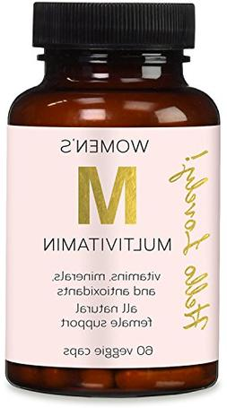 Multivitamin for Women - All Natural, Vitamins A C D E B1 B2