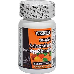 Deva Vegan Multivitamin and Mineral Supplement - 90 Tiny Tab