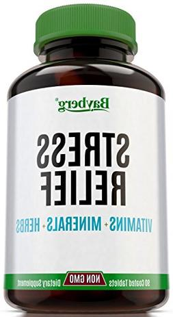 Multivitamins & Anti Stress formula with Minerals and Herbs.