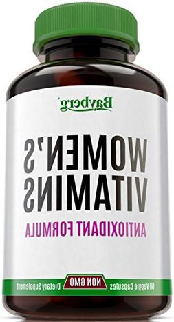 Women's Multivitamins. Antioxidant Energy Supplement with Mi
