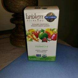 Garden of Life My Kind Organic Vitamin B-Complex 30 Vegan Ta