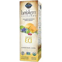 Garden of Life D3 Vitamin - mykind Organic Whole Food Vitami