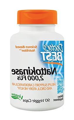 Doctor's Best Nattokinase 2,000 Fu, Non-GMO, Gluten Free, Ve