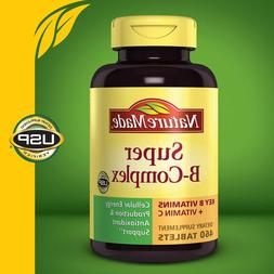 Nature Made Super B-Complex 460 Tablets with Vitamin C and F