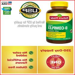 Nature Made Super B-Complex 60,140,250,460 Tablets with Vita