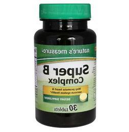 nature s measure super vitamin b complex