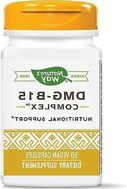 Nature's Way, DMG-B15 Complex, 60 Vegan Capsules