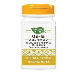 Nature's Way Vitamin B-50 Complex, 100 Capsules