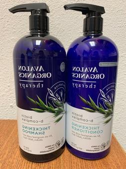 new biotin b complex thickening shampoo
