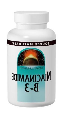 Source Naturals Niacinamide 100mg Vitamin B3 Supplement - Fl