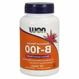 NOW Vitamin B100 100 Tablets