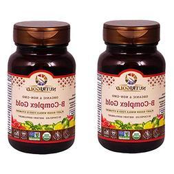 Nutrigold Vitamin B-Complex Gold  30 Organic Capsules
