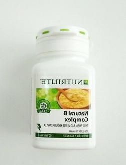 NUTRILITE Natural B Complex AMWAY, 01 box x 100 tablets, Vit