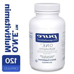 O.N.E. Multi-Vitamin by Pure Encapsulations 120 Capsules EXP