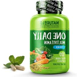 NATURELO One Daily Multivitamin for Men - with Whole Food Vi
