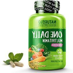 NATURELO One Daily Multivitamin for Women - Best for Hair, S