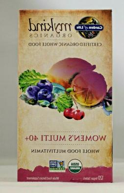 Garden of Life Multivitamin for Women - mykind Organic Women