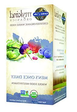 Garden of Life Organic Multivitamin Supplement for Men - myk